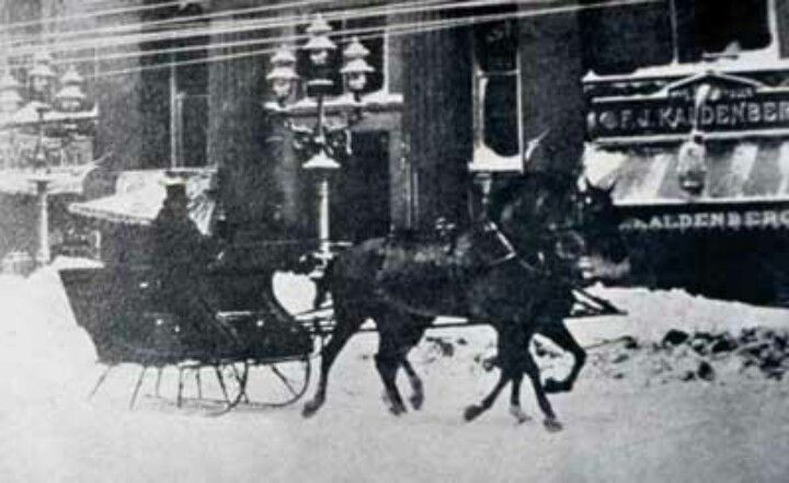 NYC Blizzard of 1888
