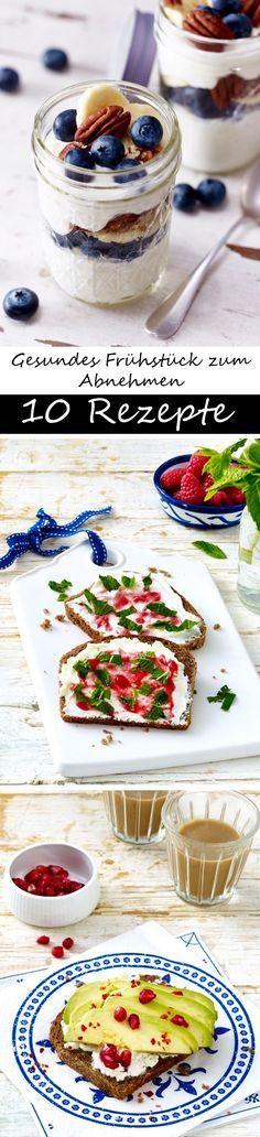 10 mal gesundes Frühstück zum Abnehmen | Wunderweib