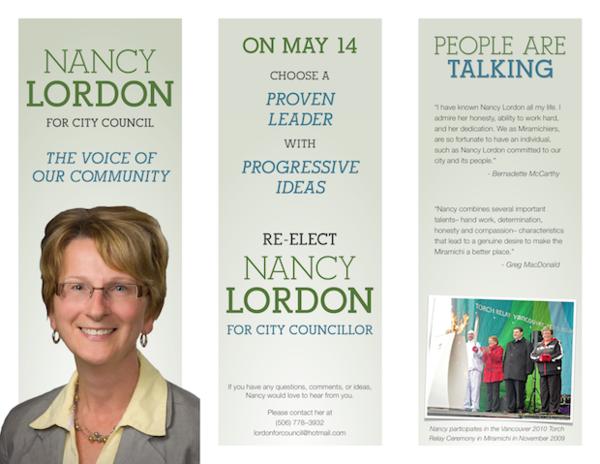 Election Pamflet  Vaalikampanjointia