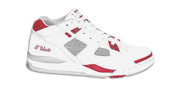 ccdb610d774 Reebok GXT G-Unit wht red grey