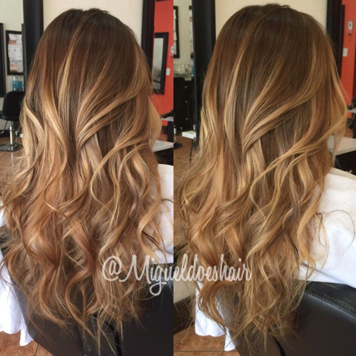 Light brown with golden blonde