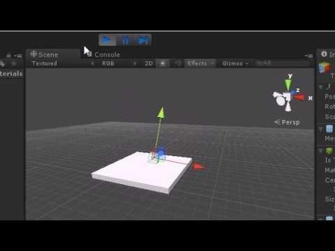 Unity3d lesson Gravity with Rigidbodies by Daydev   Thứ cần mua