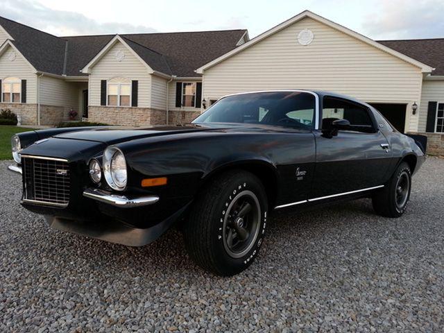 Is This Rare Black On Black 1973 Camaro Z28 Worth 6 Figures Street Legal Tv Camaro Chevrolet Camaro Classic Camaro