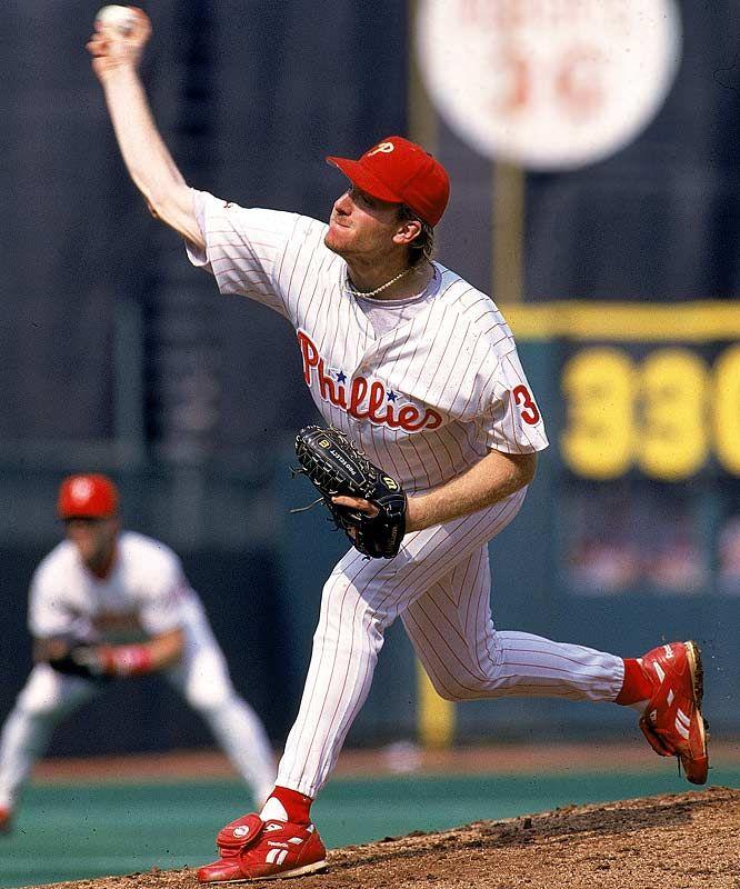 Curt Schilling Phillies Baseball Philadelphia Phillies Baseball Phillies