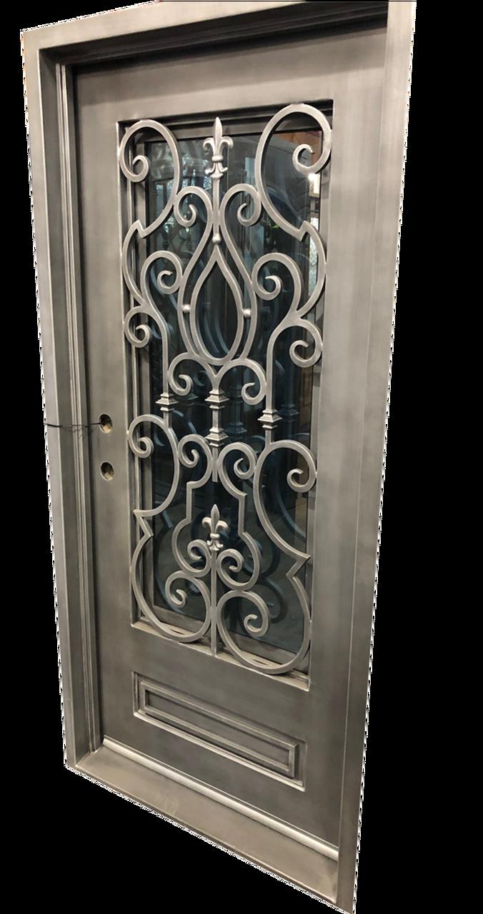 3 0 X6 8 Cielo Exterior Wrought Iron Door