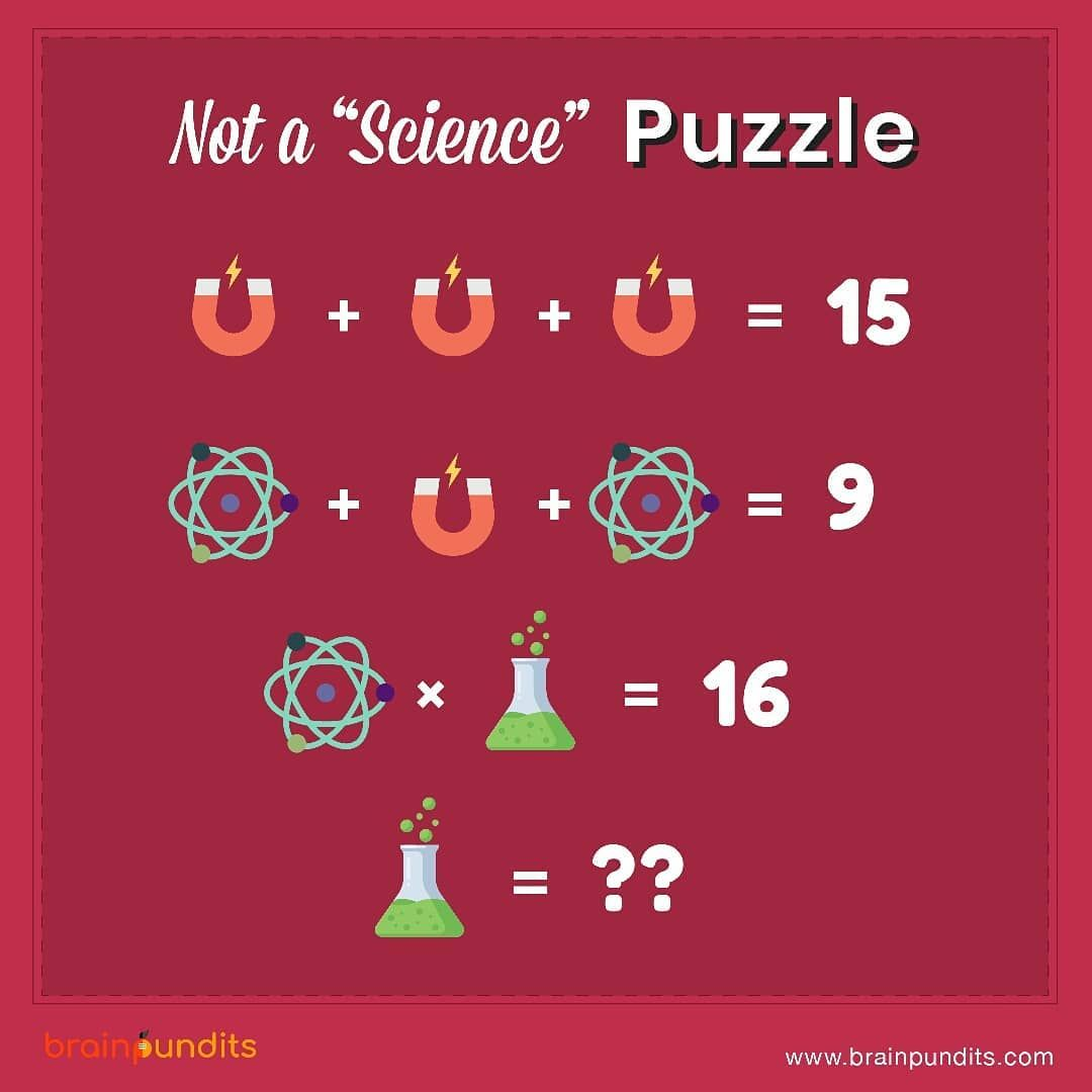 This Is Not A Science Puzzle Post Your Answers In Comment Section Tag Someone Who Could Solve This Science Puzzles Brain Teasers Word Puzzles [ 1080 x 1080 Pixel ]