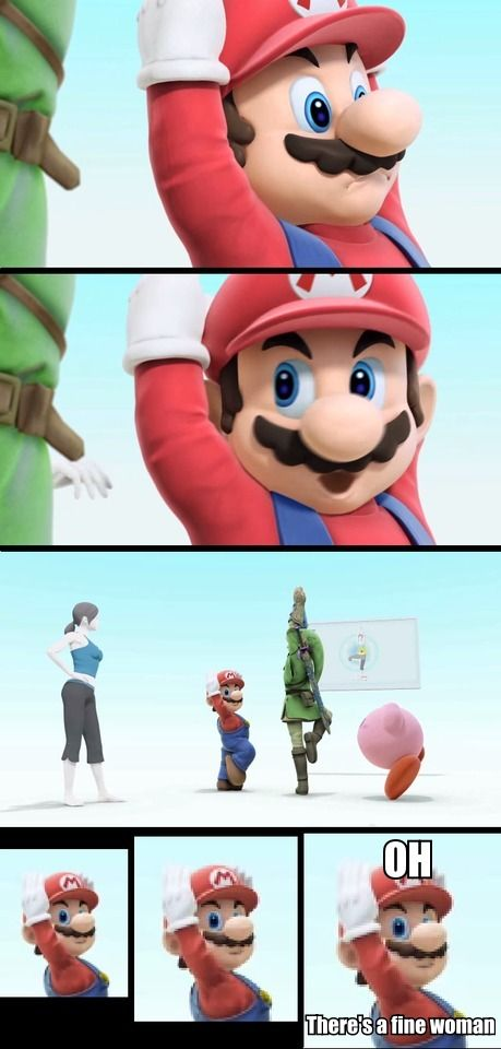 151cc611a00797680fcc7e786c060ad7 right after he said that, wii fit trainer sent them all flying