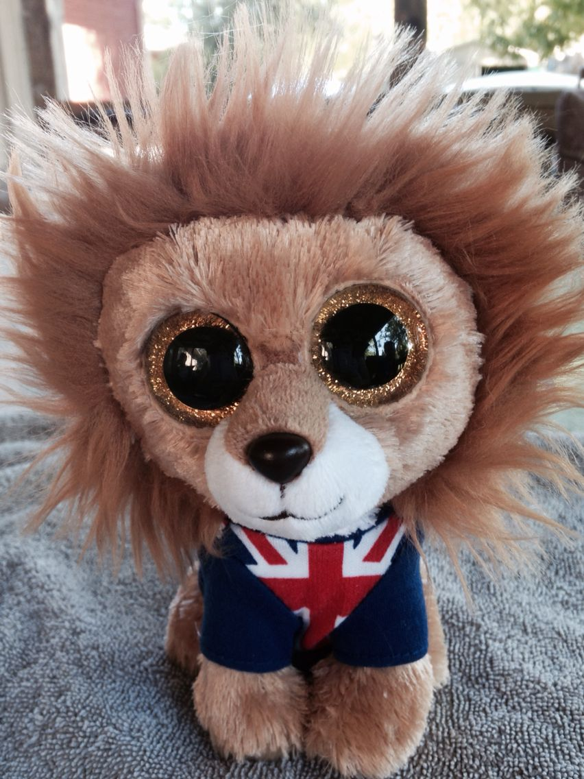 af55939fa2b Hero the lion Ty Beanie Boo UK exclusive