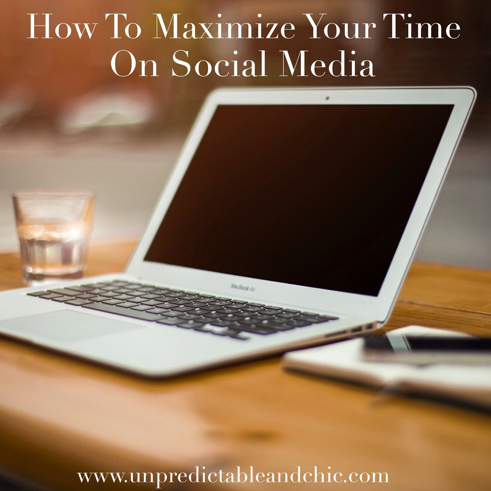 How To Maximize Your Time on Social Media Laptop