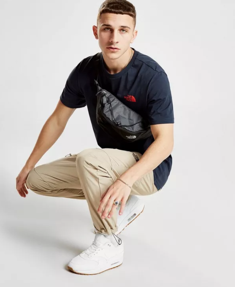 24e3a201 Bring a smart look to your street essentials with this men's Simple Dome T- Shirt from The North Face. In a slick navy colourway, this tee is made from  a ...
