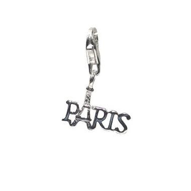 "Charm-Anhänger ""Paris"" aus 925er Sterling Silber"