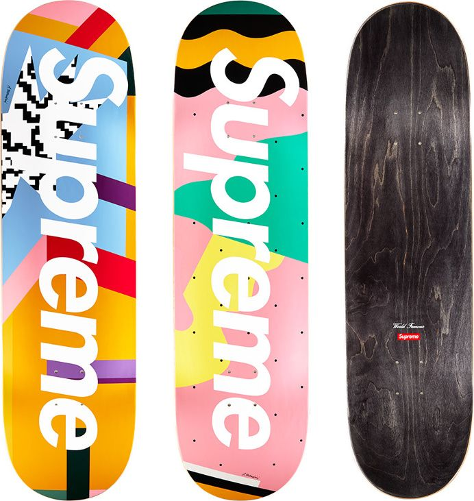 Supreme Mendini Skateboards Original artwork by Alessandro Mendini for  Supreme. in Fresh 05266b3aef5