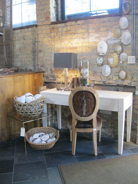 Attirant Sun Bleached Turtle Shells. Raymond Desk. Tyler Chair. Alden Lamp   Inside  Jayson Homeu0027s Chicago Store.