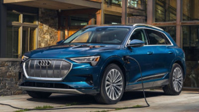 2021 Audi E Tron Gets A Lower Price And More Range Audi E Tron Audi E Tron