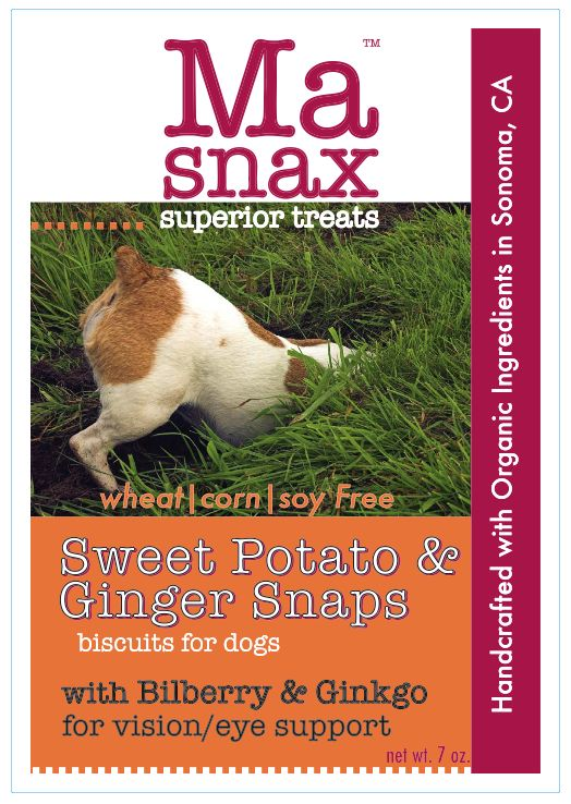 Sweet Potato & Ginger Snaps - September Treat of the Month