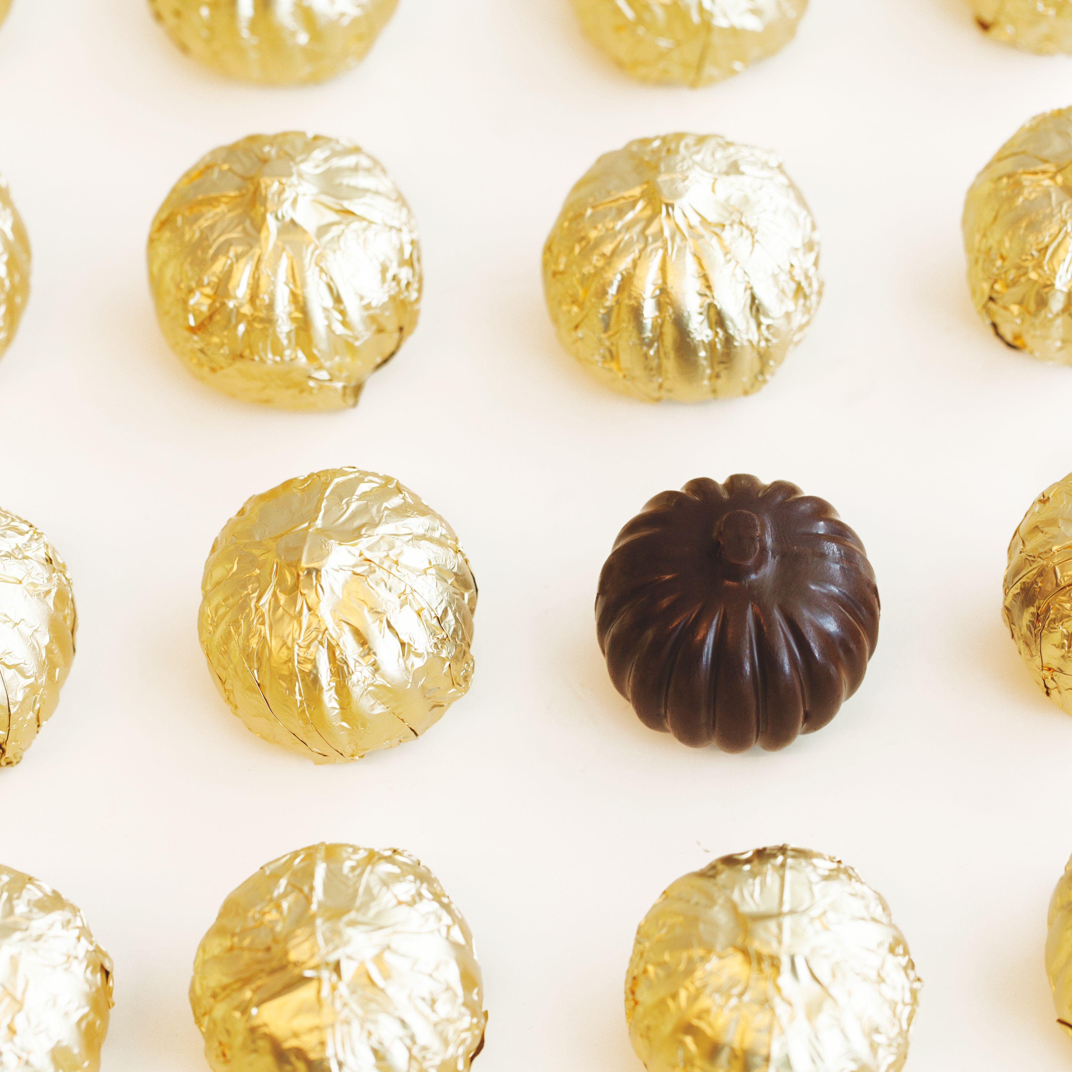 Pretty pumpkins for fall! Enjoy Purdys chocolate pumpkins this fall.