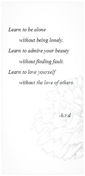 Learn To Love Yourself Unconditionally Be Comfortable With