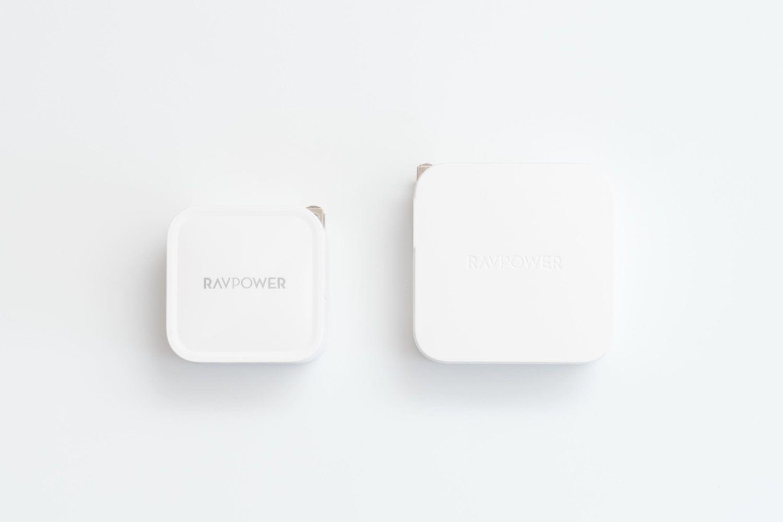 Photo of 超小型なのにMacBook Proも充電できる。窒化ガリウム『RAVPower 61W USB-C 急速充電器』レビュー