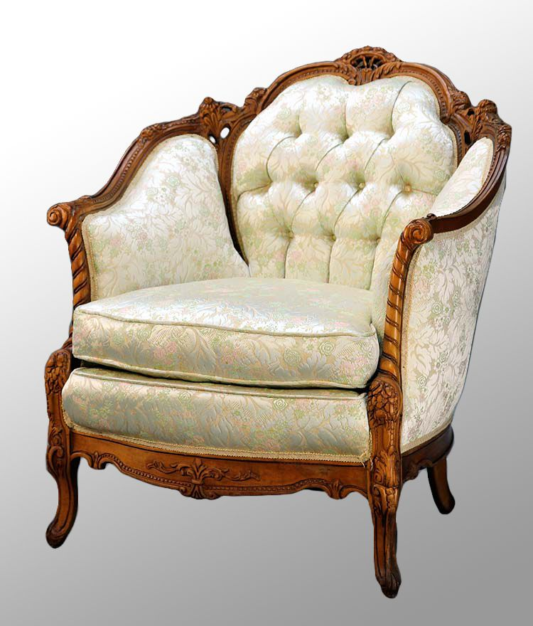 Really Cheap Furniture For Sale: Image Detail For -... Walnut French Victorian Style Parlor