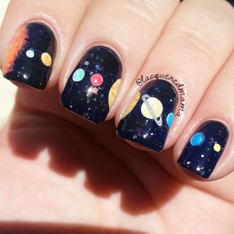 Nailpolis museum of nail art solar system by jennifer collins nailpolis museum of nail art solar system by jennifer collins prinsesfo Choice Image