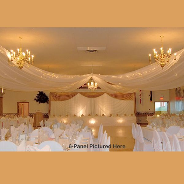4 Panel Ceiling Draping Kit Hardware Only In 2019 Catering