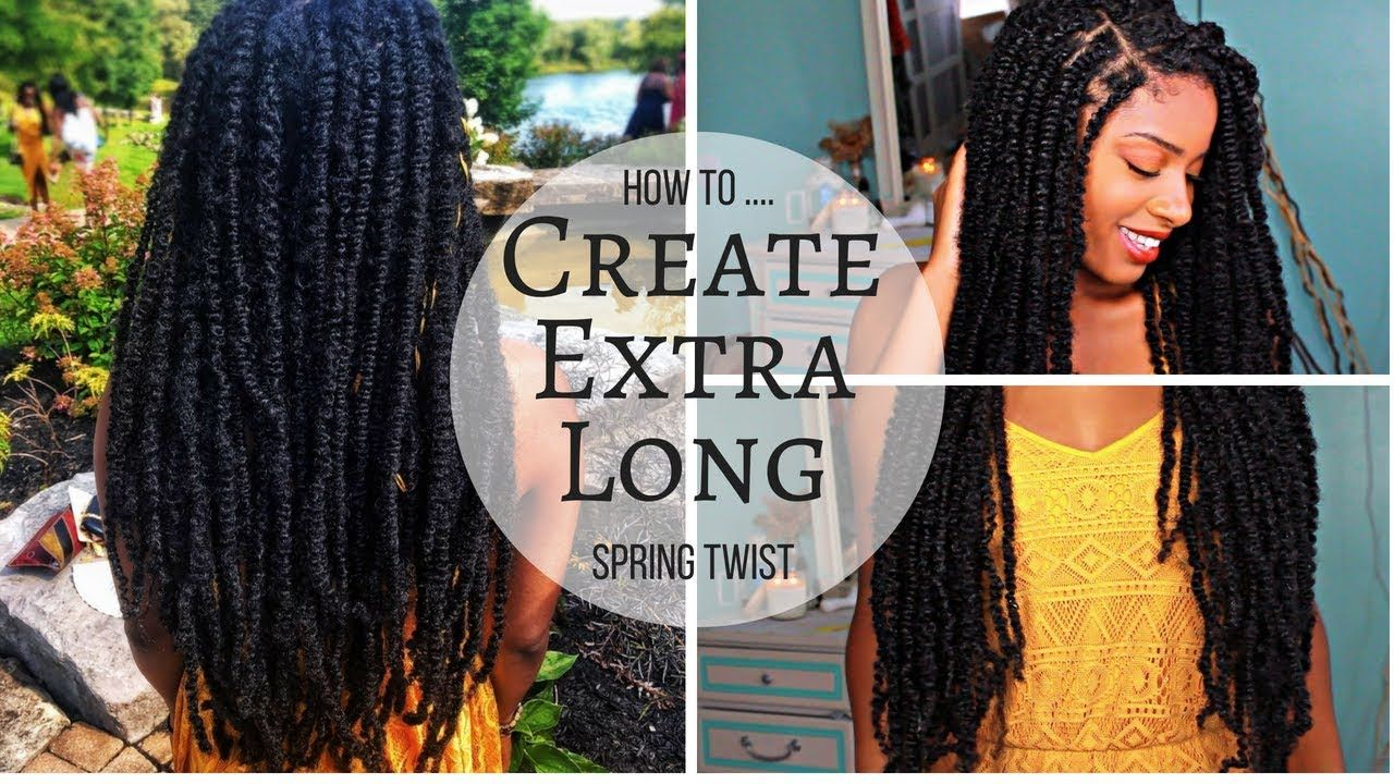 Extra Long Spring Twists Mini