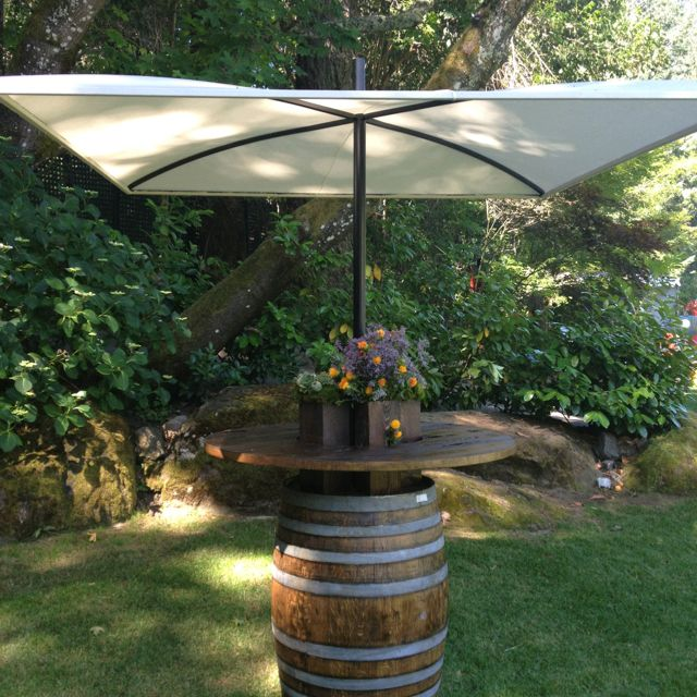 Wine Barrel Umbrellas By Studio RFD