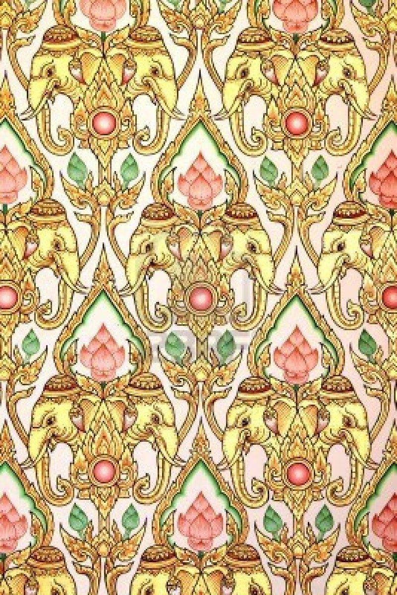 ☮ American Hippie Psychedelic Art ~ Elephant . . Wallpaper