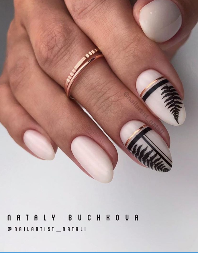35 Pretty Natural Short Almond Nails Design This Summer