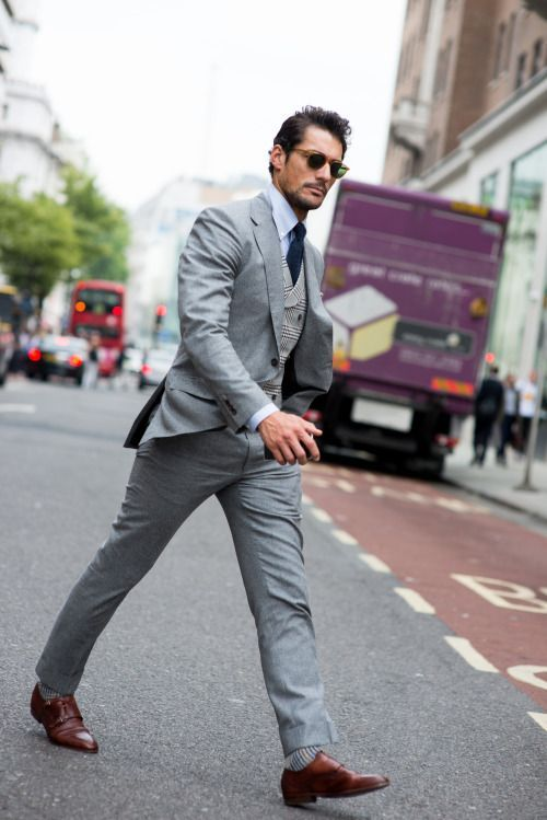 Mens Gray Suit With Brown Shoes images | Weddings | Pinterest ...