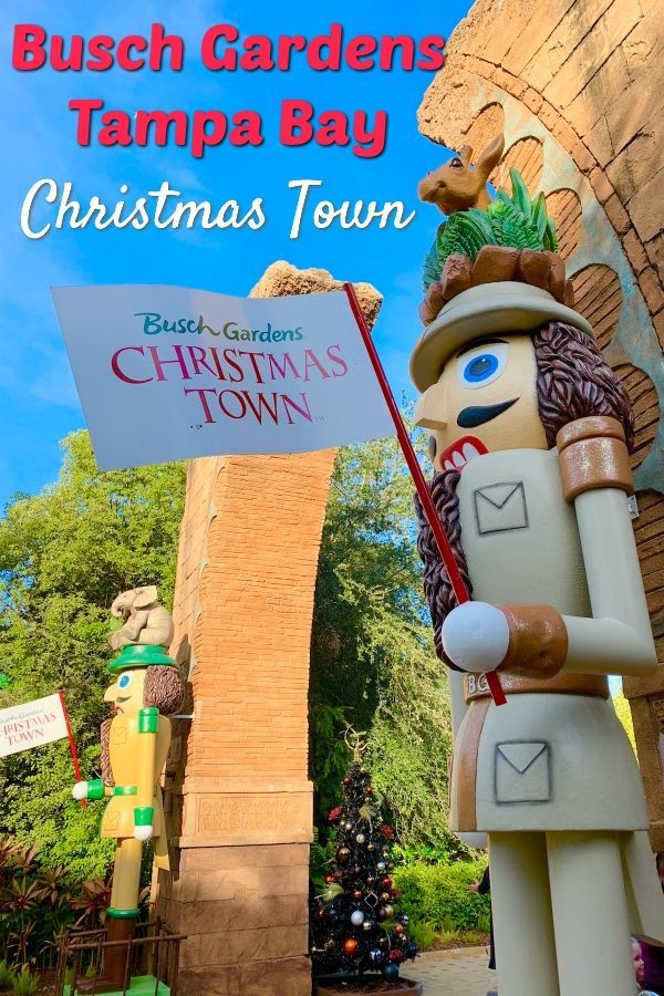 Christmas Town Florida.Busch Gardens Christmas Town Tampa Bay 2018 To Travel And