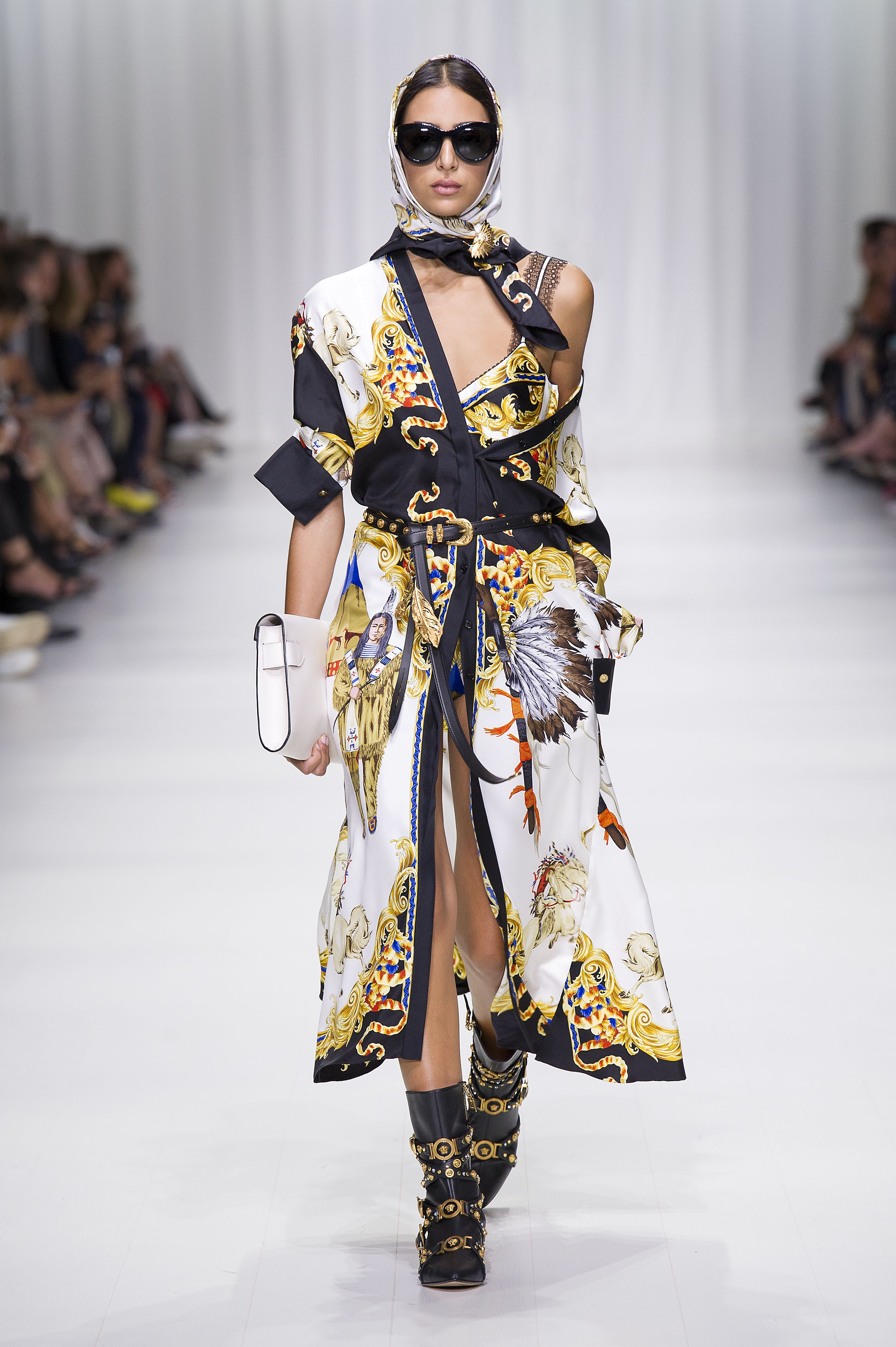 Versace spring summer 2018 | Women's Fashion | Fashion ...