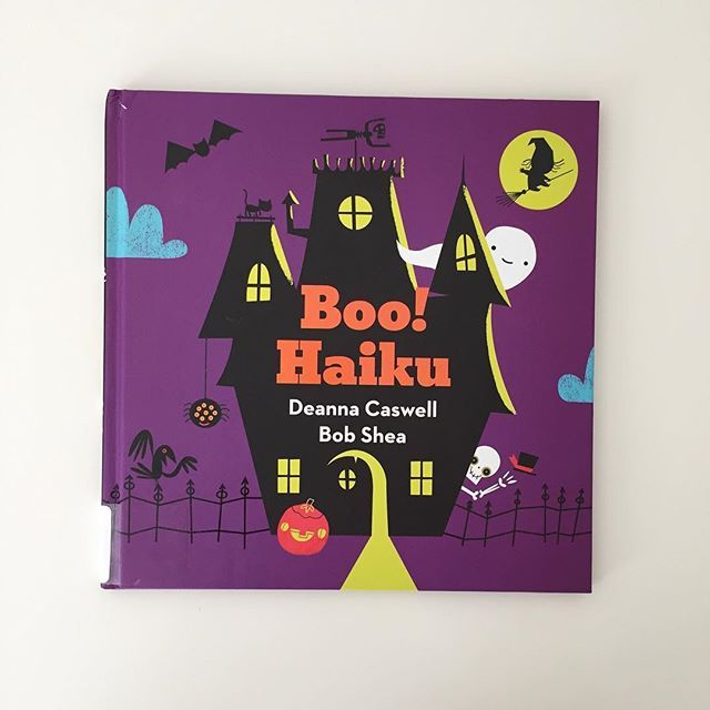 Boo! Haiku #readthelibrary #halloweenbooksforkids #halloweenbooks #spookystories #boohaiku