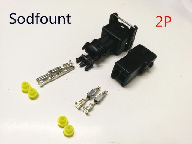 Free Shipping 10 Set Ev1 Fuel Injector Plug Car Waterproof