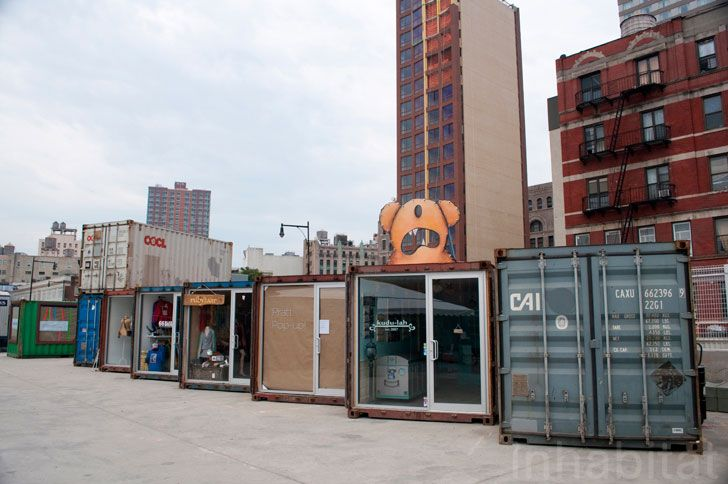 shipping container stores - dekalb market , brooklyn | home