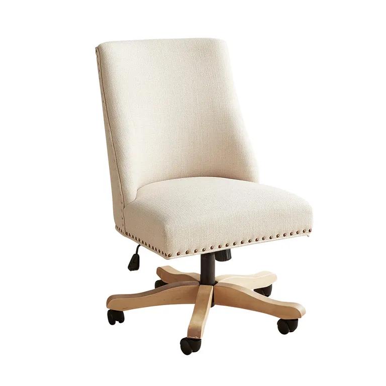 Corinne Pierformance Ivory Slub Desk Chair In 2020