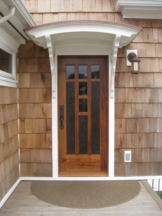 Possible Over Front Basement Door Garage Door Styles Awning