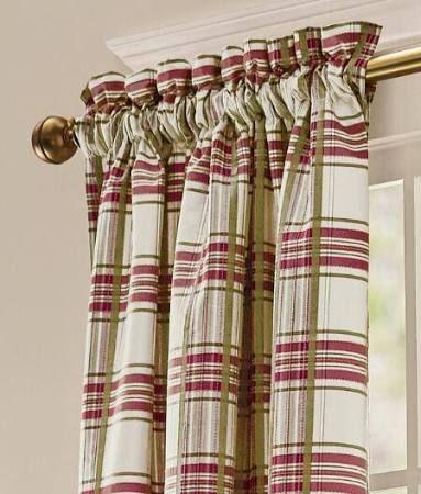 Tartan Plaid Curtains Drapes