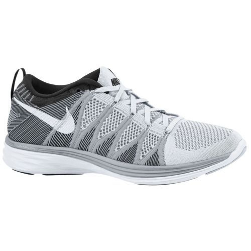 outlet store d89e4 8ba13 ... official store nike flyknit lunar 2 womens running shoes white wolf  grey black ff35e 8102c