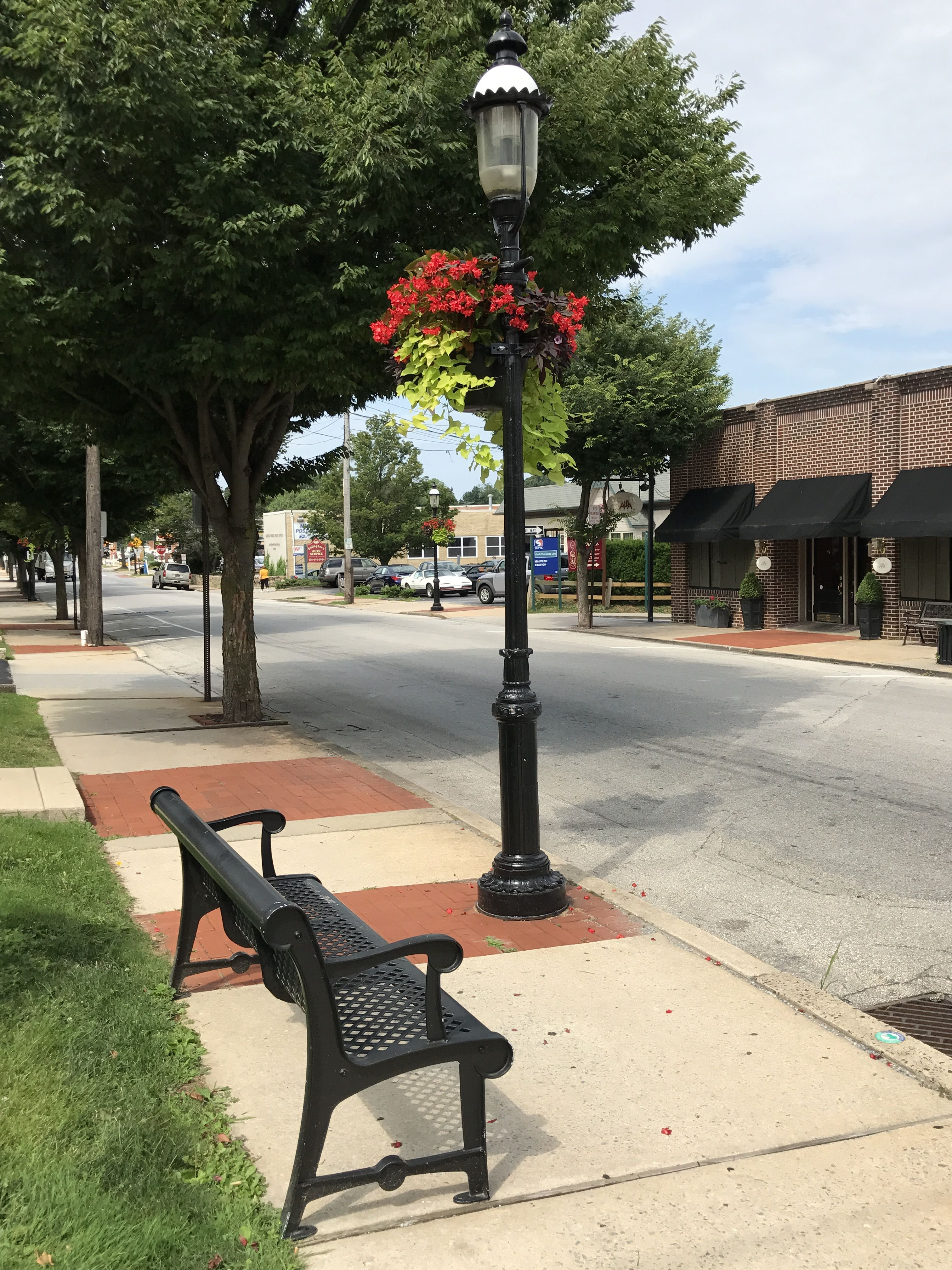 VISCO W series cast iron pole, installed 35 years ago in Malvern Pennsylvania.   Still looking great!
