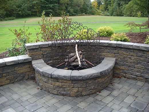 Semi Circle Fire Pit Outdoor Fire Pit Kits Outdoor Fire Pit Designs Outdoor Fire
