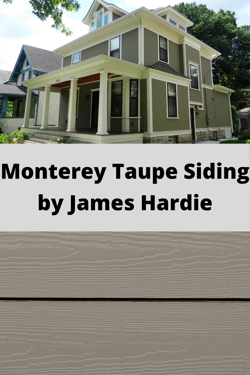 Monterey Taupe Siding By James Hardie In 2020 Siding Colors For Houses Siding Colors Taupe