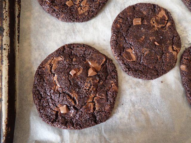 My Sugarsnap: Indulgent Salted Caramel Chocolate cookies
