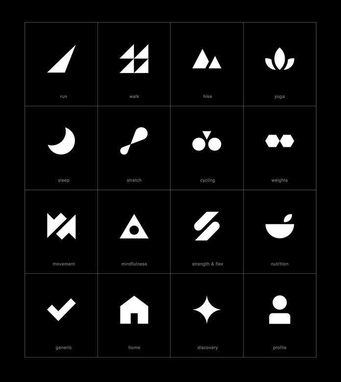 Adidas Fitness App Icons by TRÜF - #Adidas #App #by #Fitness #ıcons #Truf