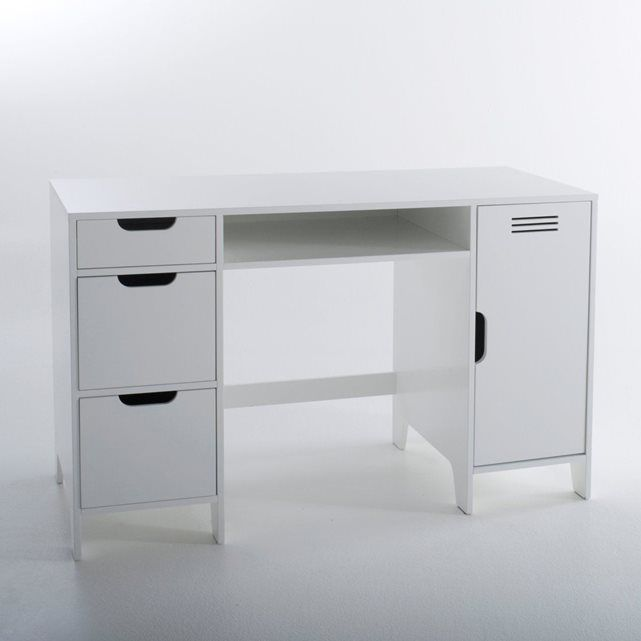 image bureau enfant double caisson asper la redoute. Black Bedroom Furniture Sets. Home Design Ideas