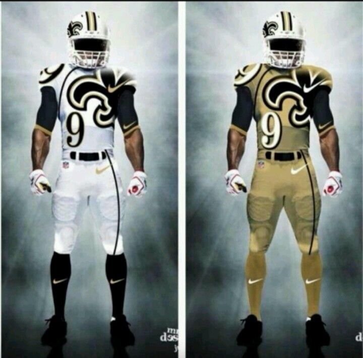 best loved 19a40 694f4 New Saints gear.... although I would miss those black pants ...