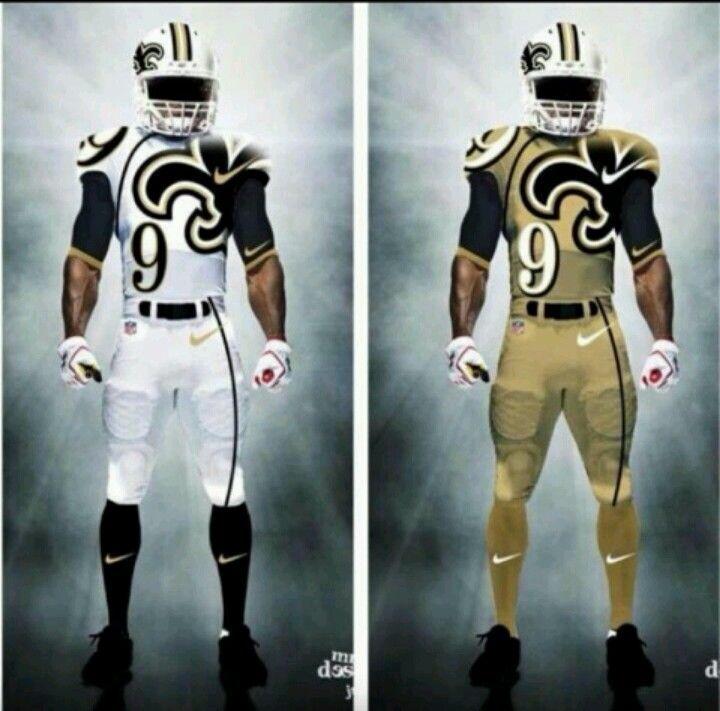 73e15163379 New Saints gear.... although I would miss those black pants ...