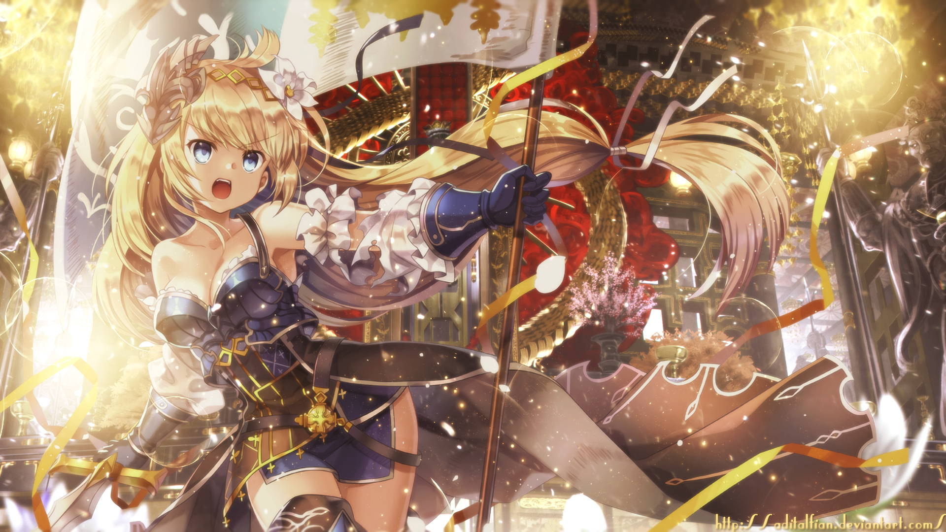 Anime Granblue Fantasy Wallpaper Granblue Fantasy Pinterest