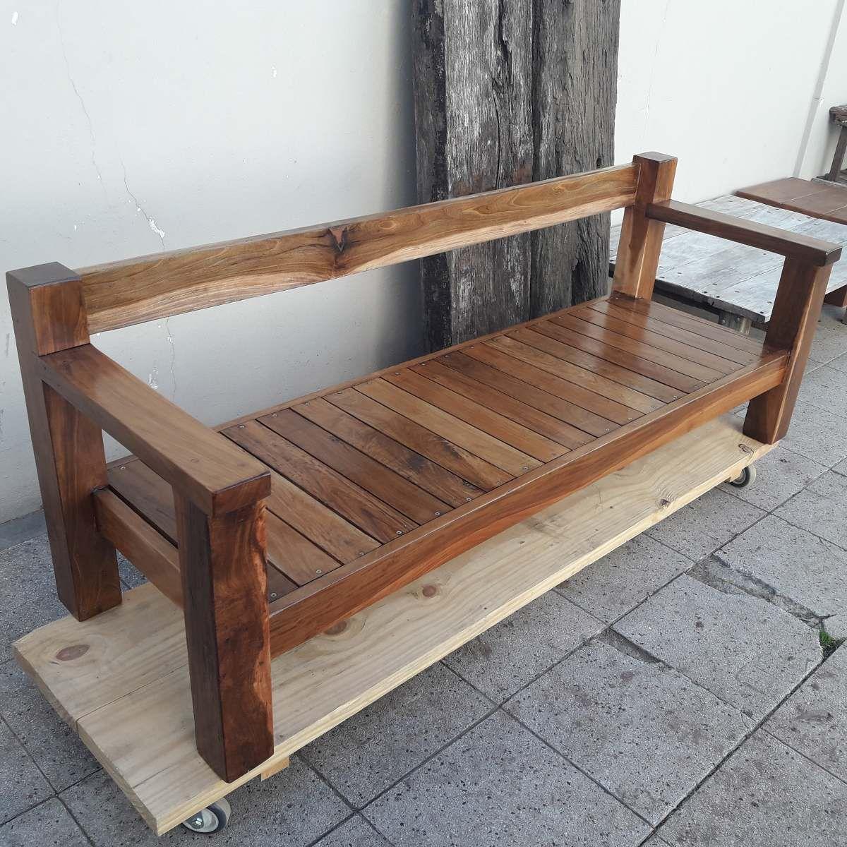 sillon de lapacho 200x70 - muebles jardin | Palets | Pinterest ...
