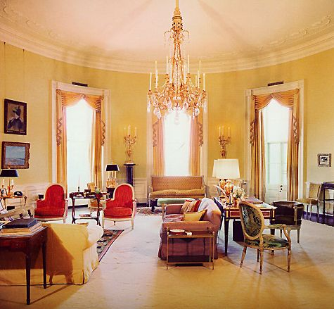 Sister Parish does the The White House for the Kennedys The White